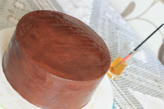 Ганаш под мастику рецепт пошагово в домашних условиях